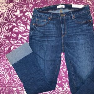 LOFT | NWT Curvy Straight Jeans